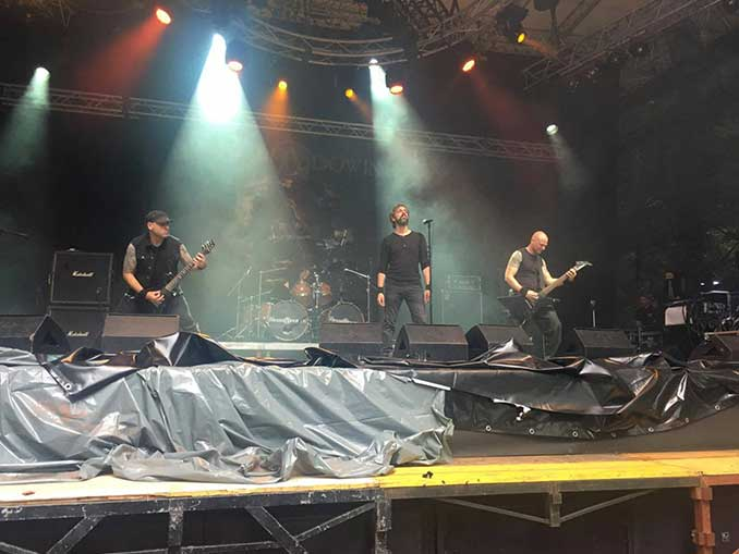 The Foreshadowing live at Metaldays 2017