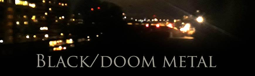 Black/doom metal