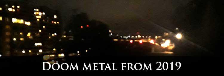 Doom metal from 2019
