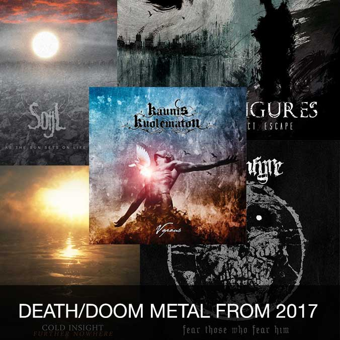 Death/doom metal from 2017