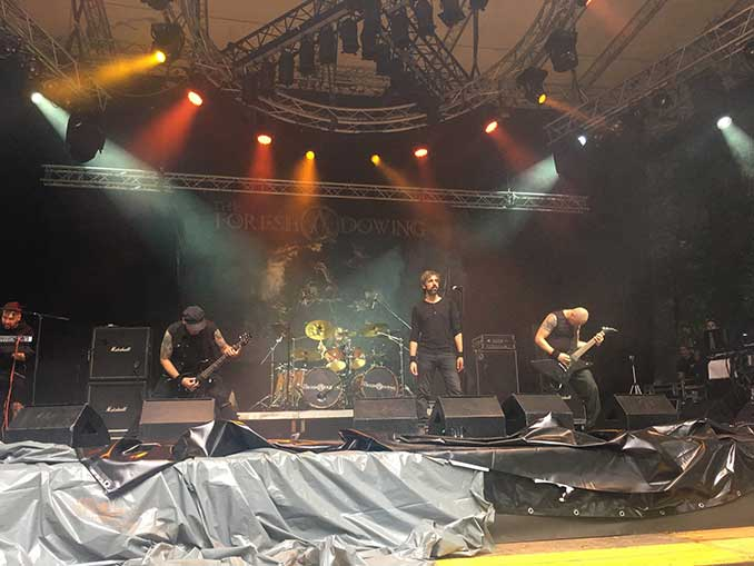 The Foreshadowing at Metaldays 2017