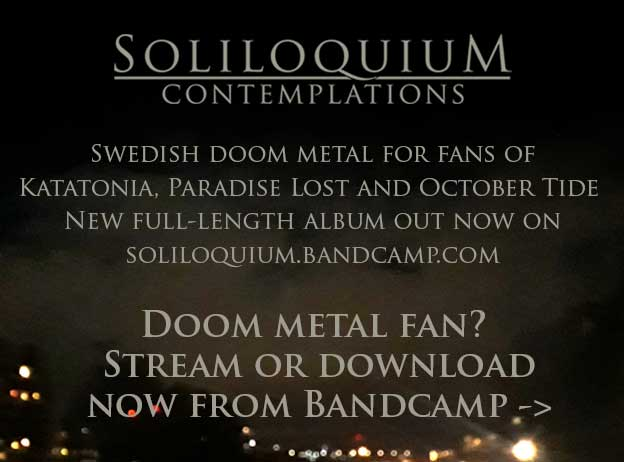 Soliloquium - Swedish progressive death/doom metal from Bandcamp