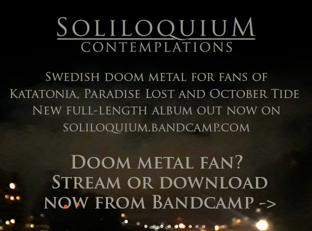 Soliloquium Swedish doom metal on Bandcamp