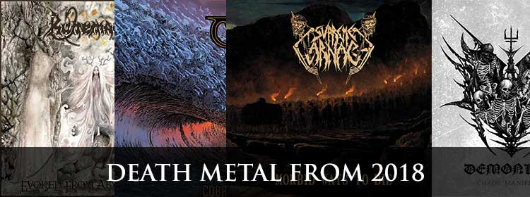 Death metal from 2018
