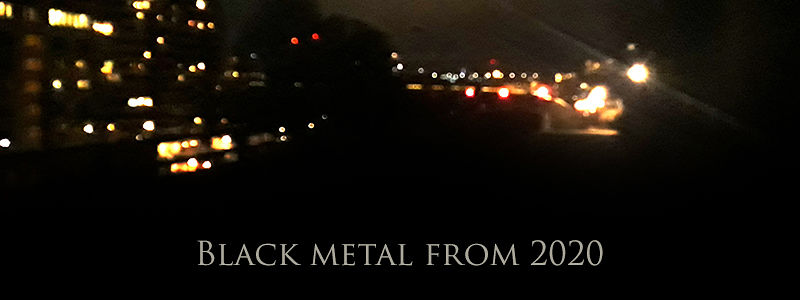 Black metal from 2020