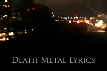death metal lyrics