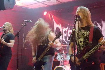 local Stockholm metal gig