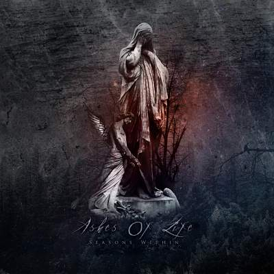 Ashes of Life - Seasons Within album cover. Portuguese doom metal music from 2020.