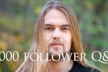 3000 follower Soliloquium Q&A