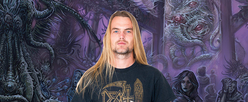 Stefan Nordström - metal musician and content creator